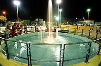 Chafariz da Praça Poliesportiva <br /><br />Bragança-Pará-Brasil<br />©Foto: Paulo Santos/ Interfoto<br /><br />Negativo Cor 135 Fc19 Nº 8413 T2 F17a