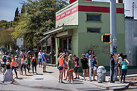 Austin's South Congress Ave. (SoCo) features an array of eclectic shops, restaurants, boutiques, antiques, music venues and galleries. Every first Thursday of the month, stores remain open until 10pm.