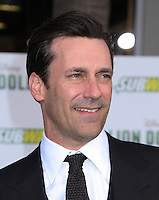 HOLLYWOOD, CA - MAY 6:  Jon Hamm at the Premiere Of Disney's 'Million Dollar Arm'  on May 6, 2014 at El Capitan Theatre in Hollywood, California. Credit: SP1/Starlitepics /nortephoto.com