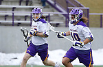 University at Albany Men's Lacrosse defeats Drexel 18-5 on Feb. 24 at Casey Stadium Defender Troy Reh (#10). (Photo by Bruce Dudek / Cal Sport Media/Eclipse Sportswire)