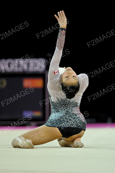 Rhythmic World Championships Montpelier France 20.9.11. Individual Competition Hoop & Ball.CAN 3 Nerissa MO