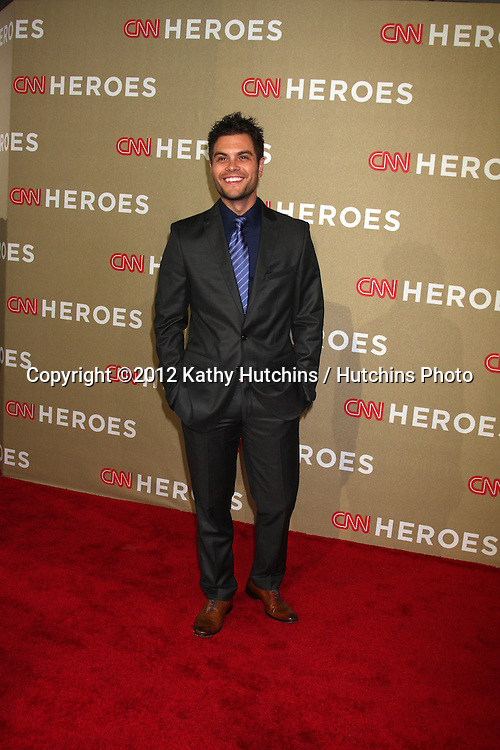 LOS ANGELES - DEC 2:  Erik Valdez arrives to the 2012 CNN Heroes Awards at Shrine Auditorium on December 2, 2012 in Los Angeles, CA