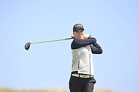 Gemma Batty (SCO) on the 9th tee during Round 3 of the Irish Women's Open Stroke Play Championship 2018 on Sunday 13th May 2018.<br /> Picture:  Thos Caffrey / Golffile<br /> <br /> All photo usage must carry mandatory copyright credit (&copy; Golffile | Thos Caffrey)