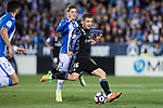 Mateo Kovacic (r) of Real Madrid competes for the ball with Ruben Perez of Deportivo Leganes during their La Liga match between Deportivo Leganes and Real Madrid at the Estadio Municipal Butarque on 05 April 2017 in Madrid, Spain. Photo by Diego Gonzalez Souto / Power Sport Images