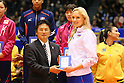 Volleyball: FIVB World Grand Champions Cup women's medal ceremony