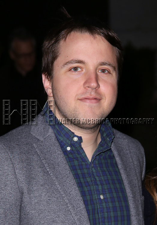 Josh Harmon attends 'The Robber Bridegroom' Off-Broadway Opening Night performance at Laura Pels Theatre on March 13, 2016 in New York City.