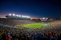 TALLAHASSEE, FL 11/29/14 FSU-UF112914-Doak Campbell Stadium during the second half of the Florida State University vs. University of Florida football game Nov. 29, 2014 in Tallahassee. The Seminoles beat the Gators 24-19.<br /> COLIN HACKLEY PHOTO