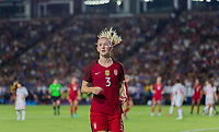 Carson, CA - Thursday August 03, 2017: Samantha Mewis during a 2017 Tournament of Nations match between the women's national teams of the United States (USA) and Japan (JAP) at StubHub Center.