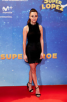 Elena Perez attends to Super Lopez premiere at Capitol cinema in Madrid, Spain. November 21, 2018. (ALTERPHOTOS/A. Perez Meca) /NortePhoto NORTEPHOTOMEXICO