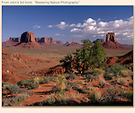 View from Artist's Point in Monument Valley, Navajo Tribal Park, Arizona.