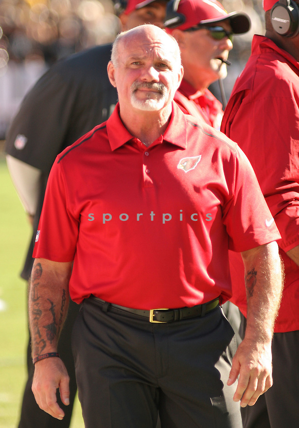 Arizona Cardinals Buddy Morris (SCC) during a game against the Oakland Raiders on October 19, 2014 at O.co Coliseum in Oakland, CA. The Cardinals beat the Raiders 24-13.