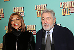 Grace Hightower and Robert De Niro attends the Broadway Opening Night Perfomance of  'A Bronx Tale'  at The Longacre on December 1, 2016 in New York City.