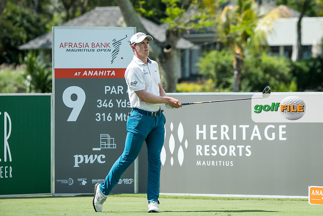 Grant Forest (SCO) during the 3rd round of the AfrAsia Bank Mauritius Open, Four Seasons Golf Club Mauritius at Anahita, Beau Champ, Mauritius. 01/12/2018<br /> Picture: Golffile | Mark Sampson<br /> <br /> <br /> All photo usage must carry mandatory copyright credit (&copy; Golffile | Mark Sampson)