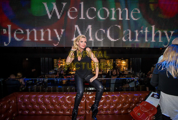 LAS VEGAS, NV - NOVEMBER 30 : Jenny McCarthy pictured as Jenny McCarthy hosts her official Dirty, Sexy, Funny after party at Body English Nightclub &amp; Afterhours at Hard Rock Hotel &amp; Casino Las Vegas on November 30, 2013 in Las Vegas, NV., USA.<br /> CAP/MPI/SLP/KAB<br /> &copy;Kabik/Starlitepics/MediaPunch/Capital Pictures