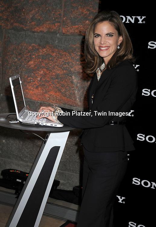 Natalie Morales in Fendi suit