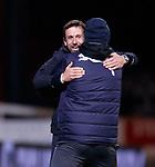 Neil McCann celebrates as Dundee score goal no 2