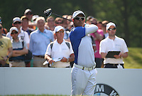 Jaco Van Zyl (RSA) during Round Three of the 2016 BMW PGA Championship over the West Course at Wentworth, Virginia Water, London. 28/05/2016. Picture: Golffile   David Lloyd. <br /> <br /> All photo usage must display a mandatory copyright credit to © Golffile   David Lloyd.