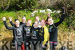 Born To Run Nutters l-r  Tracy Smith, Fiona O'Connor, Cathy Jordan, Emma Kinnane and Kathleen Reidy. Back l-r  Den  McCarthy and Bob Walsh at the BWildered Challenge in Ballymacelligott on Saturday