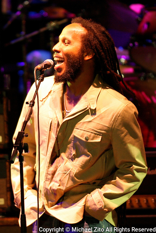 05/20/09 Los Angeles, CA: Ziggy Marley performs with the Allman Brothers Band at the Greek Theater.