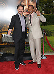 Robert Downey Jr. & Jamie Foxx at The Dreamworks Pictures' L.A. Premiere of The Soloist held at Paramount Studios in Hollywood, California on April 20,2009                                                                     Copyright 2009 RockinExposures