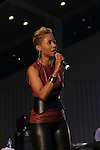 Vivian Green Performing at SummerStage Concert at Marcus Garvey Park Featuring Bilal and Vivian Green, Harlem NY