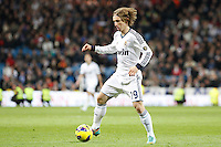 Luka Modric during La Liga Match. December 02, 2012. (ALTERPHOTOS/Caro Marin)