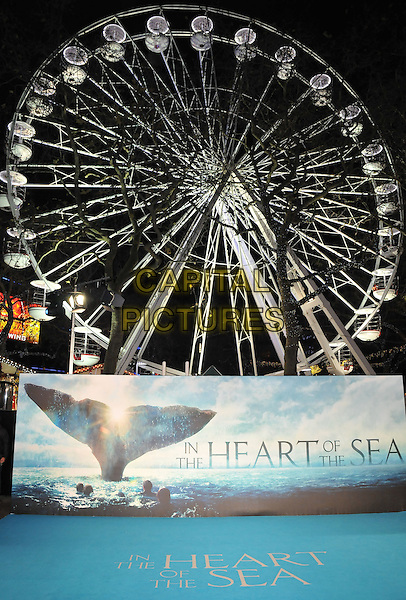 atmosphere at the &quot;In The Heart Of The Sea&quot; European film premiere, Empire cinema, Leicester Square, London, UK, on Wednesday 02 December 2015.<br /> CAP/CAN<br /> &copy;CAN/Capital Pictures