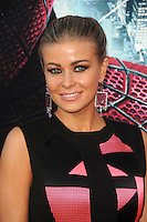 Carmen Electra at the premiere of Columbia Pictures' 'The Amazing Spider-Man' at the Regency Village Theatre on June 28, 2012 in Westwood, California. &copy; mpi35/MediaPunch Inc. /*NORTEPHOTO.COM*<br />