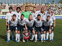 US Under 17 National Team Starting Eleven. US Under-17 Men's National Team defeated United Arab Emirates 1-0 at Gateway International  Stadium in Ijebu-Ode, Nigeria on November 1, 2009.