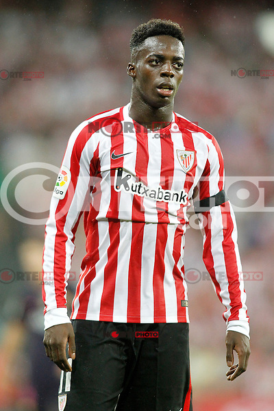 Athletic de Bilbao's Inaki Williams during La Liga match. August 28,2016. (ALTERPHOTOS/Acero) /NORTEPHOTO