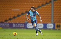 Max Muller of Wycombe Wanderers in action during the The Checkatrade Trophy match between Blackpool and Wycombe Wanderers at Bloomfield Road, Blackpool, England on 10 January 2017. Photo by Andy Rowland / PRiME Media Images.