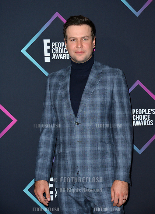 LOS ANGELES, CA. November 11, 2018: Taran Killam at the E! People's Choice Awards 2018 at Barker Hangar, Santa Monica Airport.<br /> Picture: Paul Smith/Featureflash