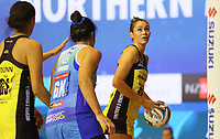 Ameliaranne Ekenasio in action during the ANZ Championship netball match between Northern Mystics and Central Pulse at the Auckland Netball Centre in Auckland, New Zealand on Saturday 18 July 2020. Photo: Simon Watts / bwmedia.co.nz
