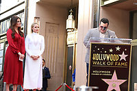 LOS ANGELES - OCT 19:  Idina Menzel, Kristen Bell, Josh Gad at the Idina Menzel and Kristen Bell Star Ceremony on the Hollywood Walk of Fame on October 19, 2019 in Los Angeles, CA
