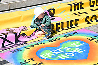 Extinction Rebellion climate change protest in Norwich, UK 12 May 2019