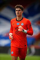 7th July 2020; Selhurst Park, London, England; English Premier League Football, Crystal Palace versus Chelsea; Goalkeeper Kepa Arrizabalaga of Chelsea