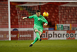 Hugo Warhurst in action during the U18 Professional Development League 2 play off semi final match at  Bramall Lane, Sheffield. Picture date: April 21st 2017. Pic credit should read: Simon Bellis/Sportimage