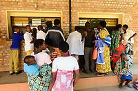 RUANDA, Butare, Institut Saint Boniface, Krankenstation Gikonko, Rezeption