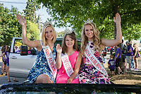 Miss Auburn Girls, Auburn Days Parade 2016, Washington State, USA.