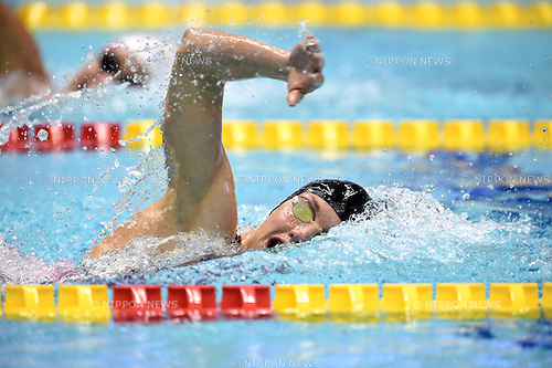 Katinka Hosszu (HUN), <br /> OCTOBER 28, 2014 - Swimming : FINA /MASTBANK Swimming World Cup Tokyo Women's 800m Freestyle Final at Tatsumi International Swimming Pool, Tokyo, Japan. <br /> (Photo by AFLO SPORT)