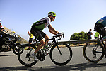 Benjamin King (USA) Team Dimension Data on the slopes of Sierra de la Alfaguara near the finish of Stage 4 of the La Vuelta 2018, running 162km from Velez-Malaga to Alfacar, Sierra de la Alfaguara, Andalucia, Spain. 28th August 2018.<br /> Picture: Eoin Clarke   Cyclefile<br /> <br /> <br /> All photos usage must carry mandatory copyright credit (&copy; Cyclefile   Eoin Clarke)