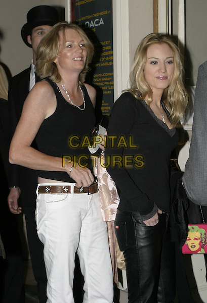 LADY MADELINE LLOYD WEBER & DAUGHTER?.Cloaca Uk Premiere and press night, The Old Vic Theatre, London, September 28th 2004..half length .Ref: AH.www.capitalpictures.com.sales@capitalpictures.com.©Capital Pictures.