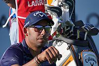 Pablo Larrazabal (ESP) on the 15th during the 1st round of the Abu Dhabi HSBC Championship, Abu Dhabi Golf Club, Abu Dhabi,  United Arab Emirates. 16/01/2020<br /> Picture: Fran Caffrey | Golffile<br /> <br /> <br /> All photo usage must carry mandatory copyright credit (© Golffile | Fran Caffrey)