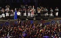 RECIFE-PE-05.02.2016- CARNAVAL-PE- Naná Vasconcelos, Elba Ramalho e Maestro Forró agitam os foliões na abertura oficial do Carnaval do Recife no Recife Antigo, na noite desta sexta-feira, 05.(Foto:Jean Nunes/Brazil Photo Press)