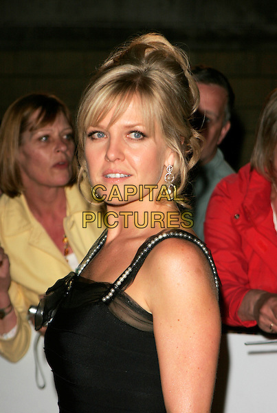 ASHLEY JENSEN.Red Carpet Arrivals at The British Academy Television Awards (BAFTA) Sponsored by Pioneer, held at the London Palladium, London, England. .May 20th 2007.headshot portrait jenson black .CAP/AH.©Adam Houghton/Capital Pictures