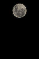 SAO PAULO, SP, 16.03.2014 - LUA CHEIA / SAO PAULO - Lua cheia e vista a partir da cidade de Sao Paulo neste domingo, 16. (Foto: William Volcov / Brazil Photo Press).