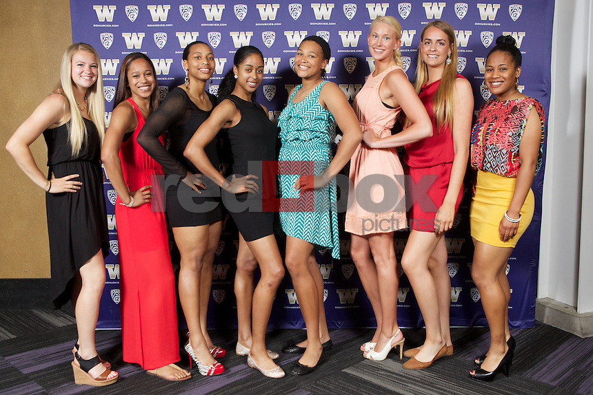 The 2013 WSAAC WESPY Awards at Alaska Airlines Arena in Seattle on Thursday June 6, 2013. (Photo by Stephen Brashear /Red Box Pictures)