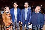 Elaine Forrest, Amae Ulhaqbhiddi, Danial Hadi and Maveed Sultan enjoying the Bon Jovee fundraiser in the Brandon Hotel on Saturday.