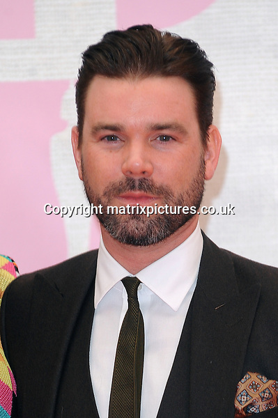 NON EXCLUSIVE PICTURE: PAUL TREADWAY / MATRIXPICTURES.CO.UK<br /> PLEASE CREDIT ALL USES<br /> <br /> WORLD RIGHTS<br /> <br /> English presenter Dave Berry attending the BRIT Awards 2015 at the O2 Arena, in London.<br /> <br /> FEBRUARY 25th 2015<br /> <br /> REF: PTY 15627