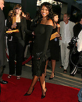 "©2004 KATHY HUTCHINS /HUTCHINS PHOTO.PREMIERE OF ""CATWOMAN"".HOLLYWOOD, CA.JULY 19, 2004..GARCELLE BEAUVAIS-NILON."